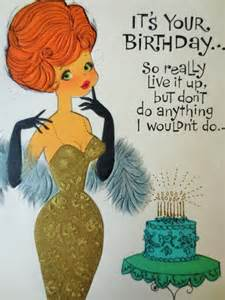 Image result for vintage birthday cards