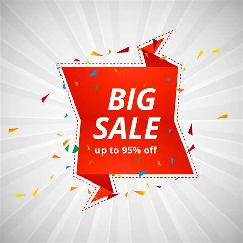 Big sale banner colorful design illustration - Download ...