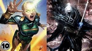 Top, 10, Most, Powerful, Cosmic, Marvel, Superheroes, -, Part, 2