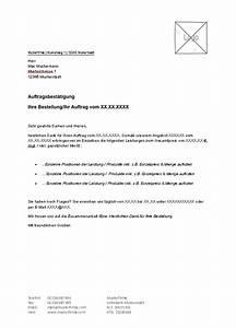 Formlose Rechnung : lexoffice kostenlose vorlagen muster f r ihre auftragsbest tigung ~ Themetempest.com Abrechnung