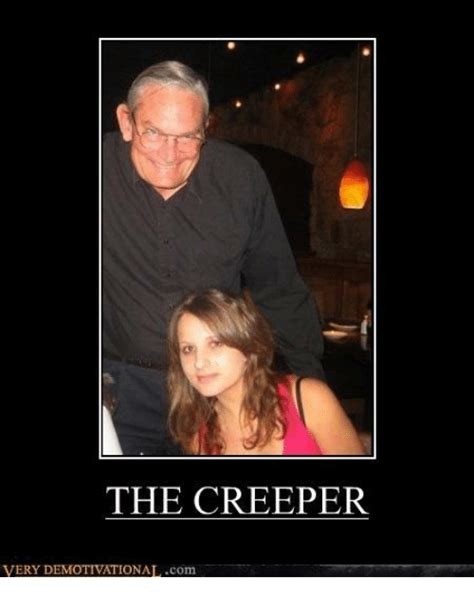 Creeper Meme The Creeper Demotivational Meme On Me Me