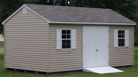 12x20 Shed by 12x20 Vinyl Gable Style Shed Capitol Sheds