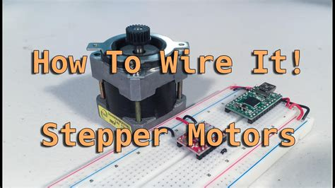 How Wire Stepper Motors Youtube