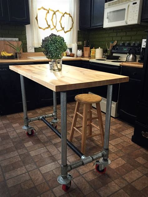 kitchen island table on wheels best 25 island table ideas on kitchen with