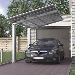 Car Port Alu : aluminium carport bausatz einzelcarport freistehend edel ~ Melissatoandfro.com Idées de Décoration