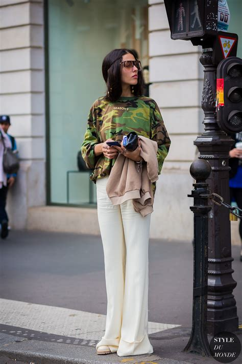 paris fashion week ss  street style gilda ambrosio