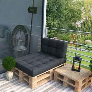 Möbel Aus Paletten : sofa aus paletten ein praktisches m bel f r drinnen und drau en ~ Markanthonyermac.com Haus und Dekorationen