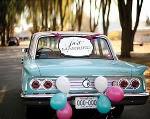 Just Married Sign, Just Married Banner, Just Married Car