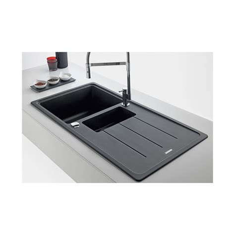 Black Kitchen Sink 15 Bowl by Franke Basis Black Onyx Fragranite 1 5 Bowl Square Kitchen