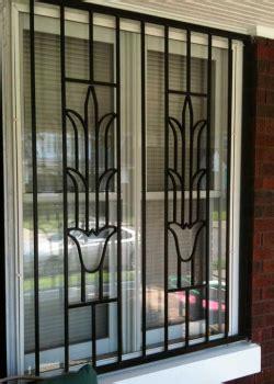 Window Sill Grill by Aci Supply Co Inc Decorative Flower Design Burglar Bars