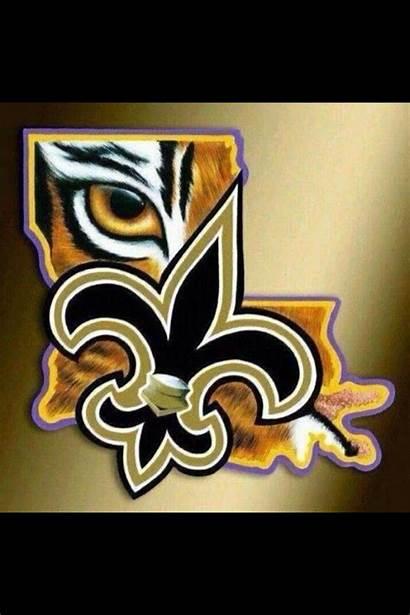 Saints Lsu Football Orleans Dat Louisiana Geaux