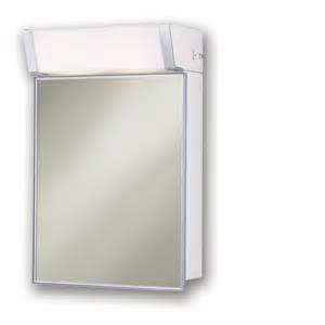 shop broan lighted cabinet 16 in x 24 in rectangle surface mirrored steel medicine cabinet