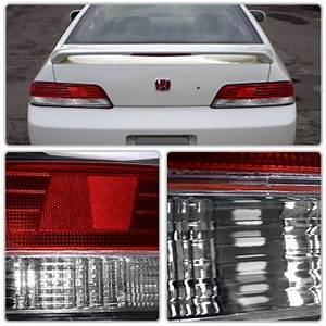 2000 Honda Prelude Led Lights Honda Prelude 1997 2001 Red And Clear Lights