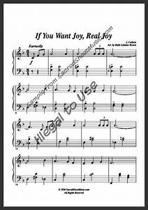 If You Want Joy  Real Joy