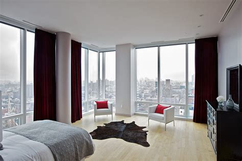 3 Bedroom Apartments In Chelsea Nyc Chelsea Duplex Penthouse Contemporary Bedroom New
