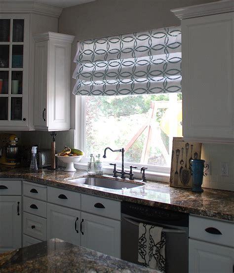 Stenciled Faux Roman Shades {tutorial} — Kitchen Sneak