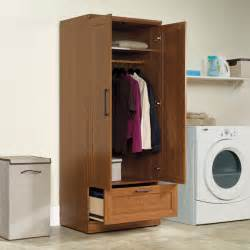 sauder home plus sienna oak wardrobe 411802