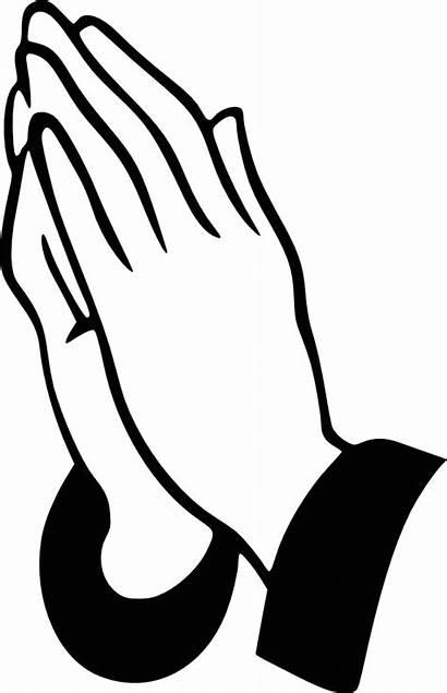 Praying Hands Clip Prayer Pray Clipart Svg