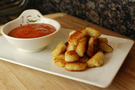 Crispy Cheese Gnocchi with Spicy Ketchup - The Food in My ...