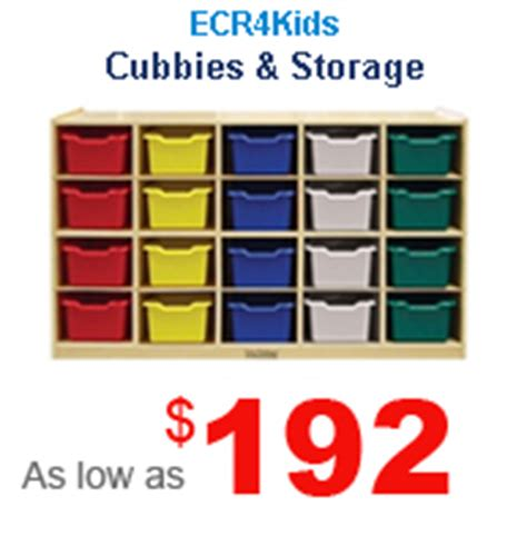early childhood and preschool furniture 179 | cubbies and storage