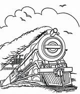 Train Coloring Steam Engine Locomotive Colouring Trains Drawing Outline Scotsman Speed Run Line Flying Template Printable Getdrawings Pdf Getcolorings Jet sketch template