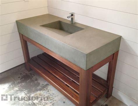 Concrete Bathroom Sink Diy