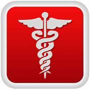 Caduceus medical icon ...