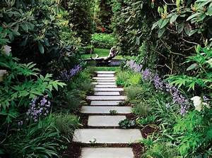 Amenagement allee de jardin et chemin de pierre en 95 idees for Idee allee de maison 0 amenagement allee de jardin et chemin de pierre en 95 idees