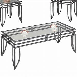coaster 7140 black glass coffee table set steal a sofa With black and glass coffee table sets