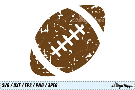 football grunge svg football svg designs distressed png cut files   design hippo