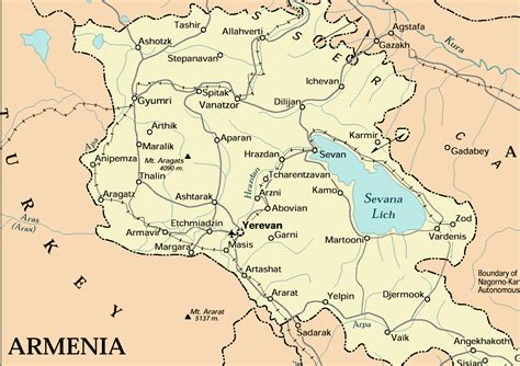 maps  armenia joao leitao travel