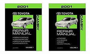 Bishko Automotive Literature 2001 Toyota Camry Shop