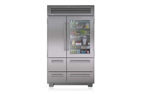 easy pieces glass door refrigerators remodelista