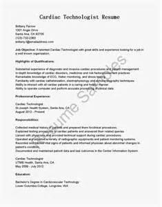 cardiovascular ultrasound tech resume cardiac technologist resume sle x machines articles