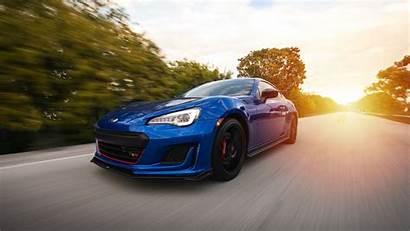 Subaru Speed Road Background Motion 4k Uhd