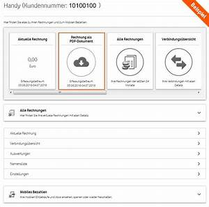 Vodafone Rechnung Ausdrucken : hilfe online rechnung rechnung ~ Themetempest.com Abrechnung