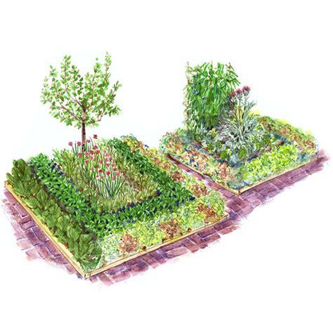 easy childrens vegetable garden plan  homes gardens