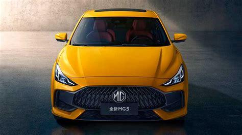 New MG 5 Sedan Debuts - Front Inspired By Hyundai, Rear By ...
