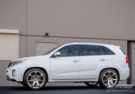 Kia Sorento custom wheels Giovanna Andros 22x, ET , tire