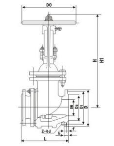 Ceramic lined gate valve - Gate valve,Gate valve
