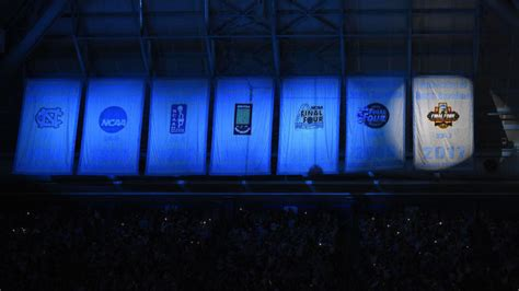 unc unveils  title banner   day ncaa