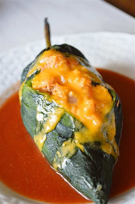 chiles rellenos stuffed wtuna quinoa kitchen gidget
