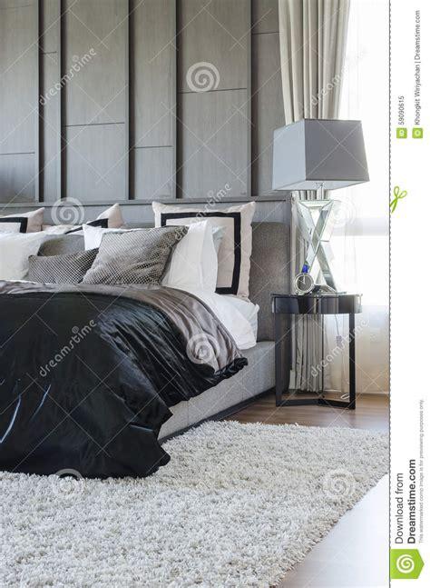 modèle chambre à coucher chambre a coucher moderne noir et blanc