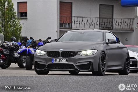 Bmw M4 Spotted In Frozen Grey