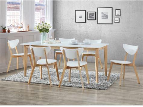 ensemble table  chaise meuble salle  manger pas cher