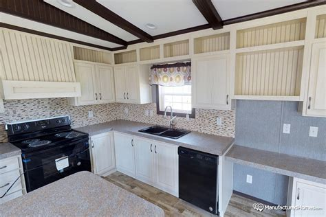 kitchen design tiles pictures green hill 16763l by fleetwood homes 4584