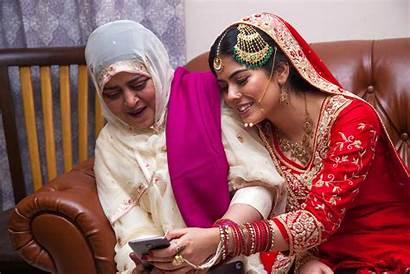 Nikah Muslim Ceremony Bride Mother Photographer