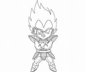 Vegeta 12 Coloring | Crafty Teenager