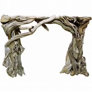 Poetic Driftwood Mantle at 1stdibs