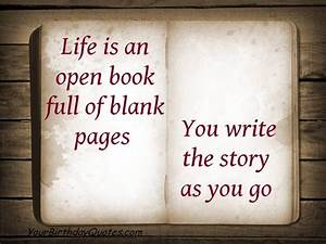 Quotes About St... Life Story Book Quotes